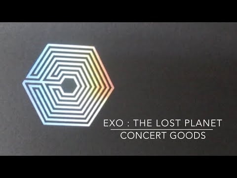 Unboxing EXO The Lost Planet Concert Goods