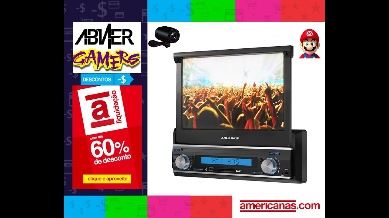 914c386d4 Unboxing Media Player Automotivo Yep! Aquarius MPA 2004 - YouTube