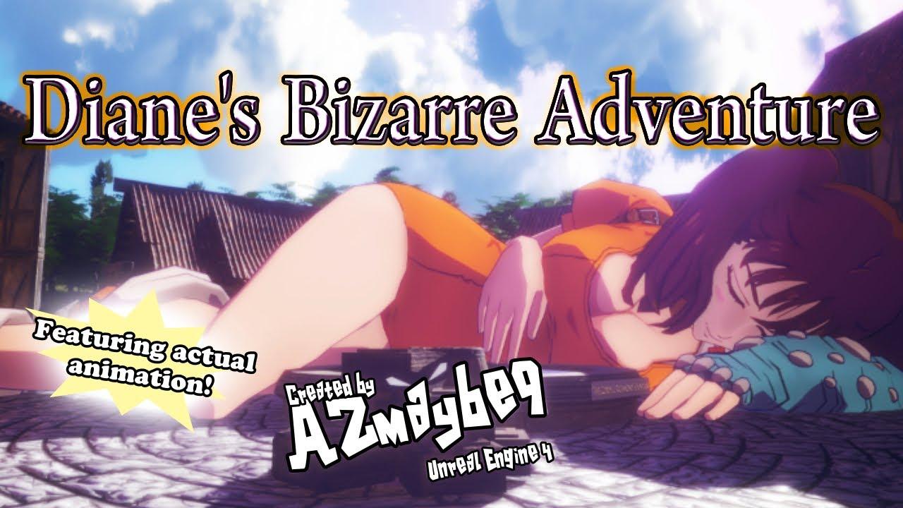 Download Diane's Actual Bizarre Adventure - Giantess Growth