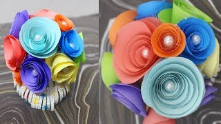DIY  Flower Showpiece   Making Flowers Arranging with Coffee Cup Showpiece   Best Out of Waste
