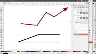 Inkscape Tips: Arrows with a colored arrowhead
