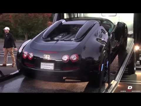 the sound of 1200hp bugatti veyron vitesse black bess start rev funnydog tv. Black Bedroom Furniture Sets. Home Design Ideas