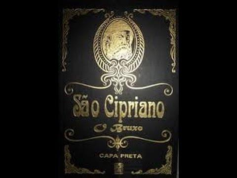 o livro sao cipriano capa preta