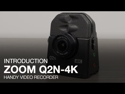 Zoom Q2n-4K Introduction