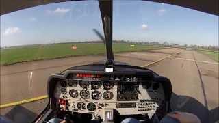 Rotterdam EHRD to Texel EHTX, live ATC