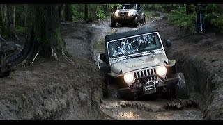 Jeep Off Road Movies - Tank Trapped