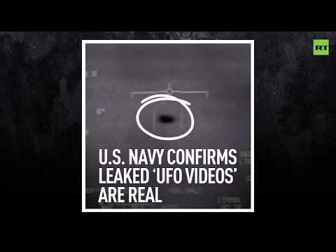 Kevin & Liz - U.S. Navy says UFO video is real