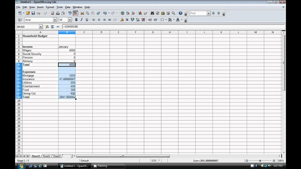 How to Create a Budget Template - YouTube
