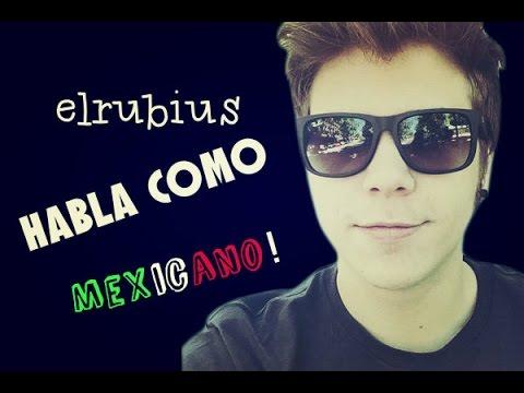 el @Rubiu5 habla como mexicano! Increible / 2015