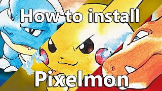 How to install pixelmon 5.0.3 (easiest and fastest way)