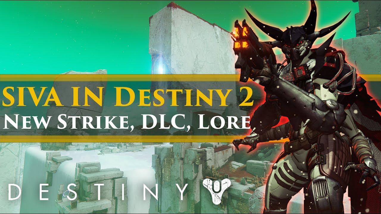 Destiny 2 Lore - SIVA Returns! New Warmind Strike? The