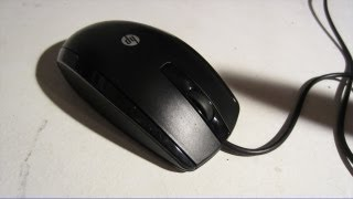 HP USB 3-Point Optical Mouse Review