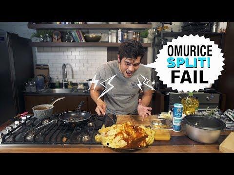 THE HARDEST OMELET TO MAKE (Japanese Omurice)