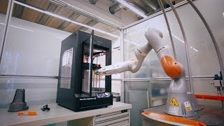 KUKA + MakerBot | Coming Soon