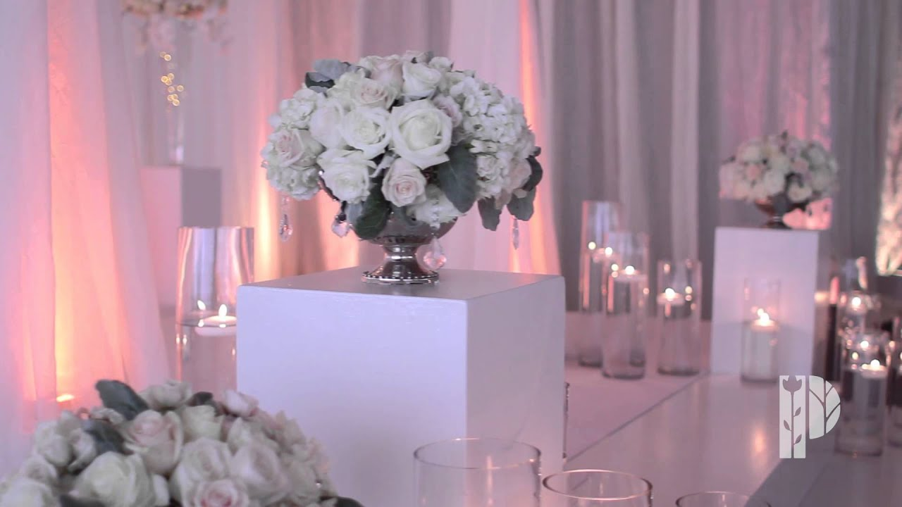 Wedding Flowers And Beautiful Centerpieces And Decorations