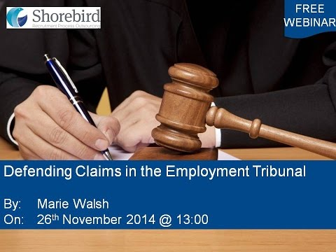 Defending Claims In The Employment Tribunal