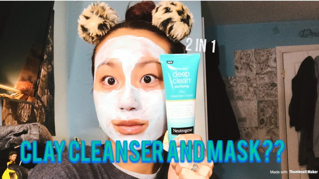 Deep Clean Purifying Clay Mask & Cleanser by Neutrogena #3