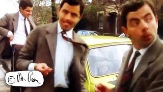 CAR Trouble | Mr Bean Funny Clips | Mr Bean Official