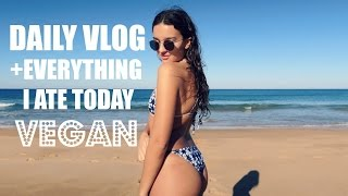 DAILY VLOG + what I ate today ♡ EARTHLINGMAXI
