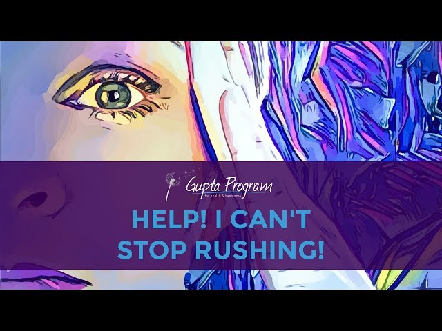 If You Can't Stop Rushing, Watch This Video | ME/CFS FIBROMYALGIA MCS EHS TIP |