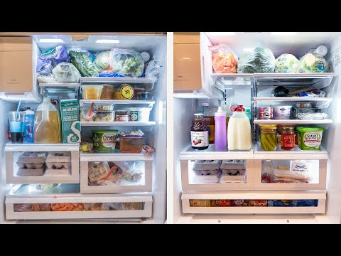 Clean With Me: Refrigerator Deep Clean and Organization
