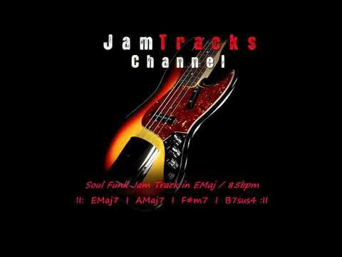 Soul Funk Bass Backing Track - JamTracksChannel
