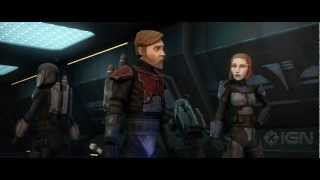 Star Wars: The Clone Wars Season 5 - Obi-Wan and Bo-Katan - Comic Con 2012