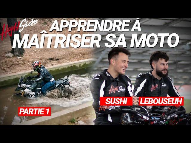 ÉMISSION - Apprendre à maîtriser sa moto (Partie 1)