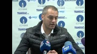 Cristian Dulca după Gaz Metan vs Corona Braşov - novatv.ro
