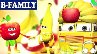 [b-family]  Apples And Bananas And Muffin Songs