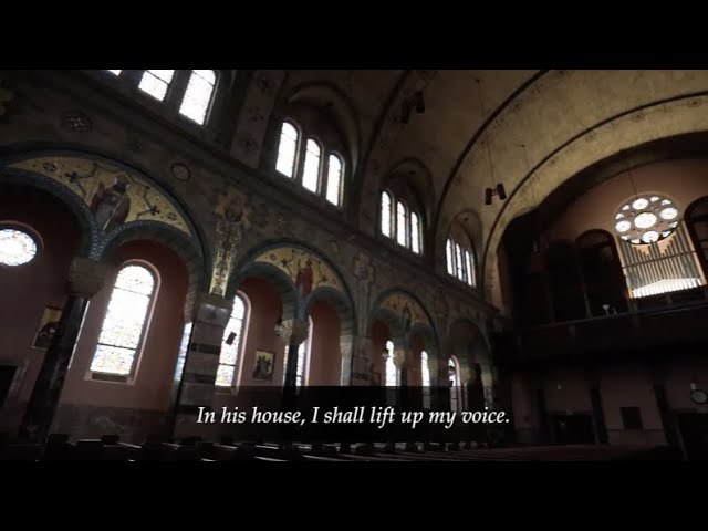 """One thing I ask, to dwell in the house of the Lord, all my days"""