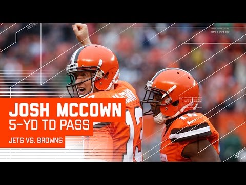 McCown Hits Barnidge & Pryor for Huge Gains on Opening Drive TD! | Jets vs. Browns | NFL
