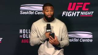 Fight Night Saskatoon: Q&A with Tyron Woodley, Jordan Mein and Cody Garbrandt