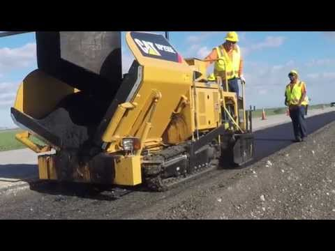 Paving Contractor Increases Profitability With The Cat® AP255E Paver