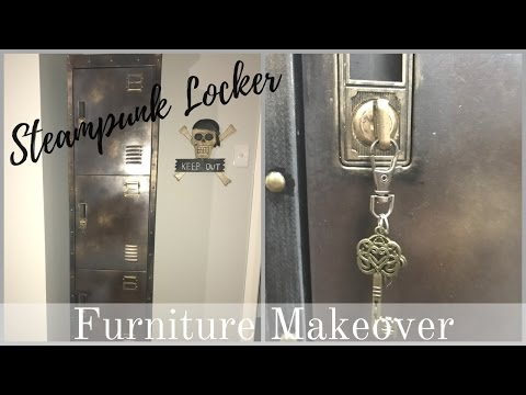 FURNITURE MAKEOVER   Vintage Industrial Locker