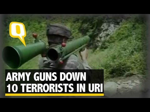 The Quint: Uri Attack: Indian Army Guns Down 10 Terrorists in Uri Sector