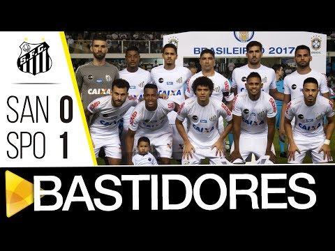 Santos 0 x 1 Sport | BASTIDORES | Brasileirão (24/06/17)