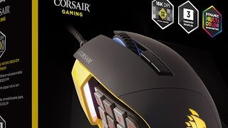 CORSAIR SCIMITAR PRO gaming mouse - Product Overview (ft. Bajheera)