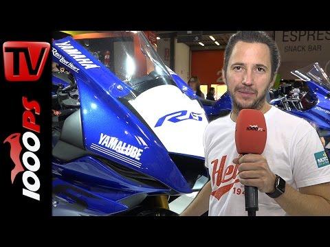 Yamaha Motorrad Neuheiten 2017 | R6, Tenere T7, T-Max, MT-09, MT-10 SP, SCR950