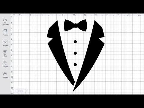 Tuxedo SVG Free Cut File For Silhouette Cricut Wedding Svg