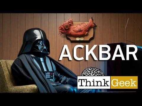 Star Wars Admiral Ackbar Singing Bass from ThinkGeek