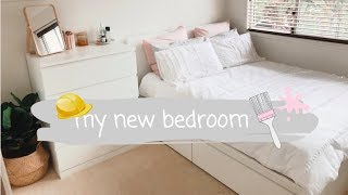 REDOING MY BEDROOM + NEW FILMING ROOM - updated room tours! | Ellie Kate