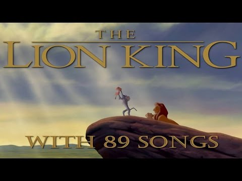 The Lion King with 89 Songs