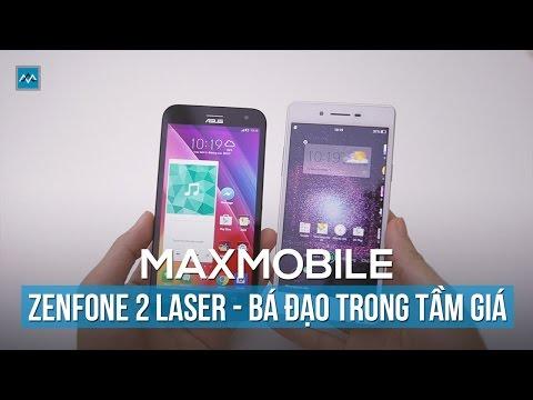 Điện thoại Zenfone 2 Laser – độc đáo từ Camera