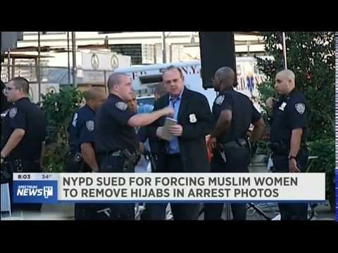 Video: CAIR-NY, ECBA File Suit to Block NYPD From Removing Arrestees' Hijabs