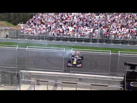 Moscow Raceway F1 Red Bull