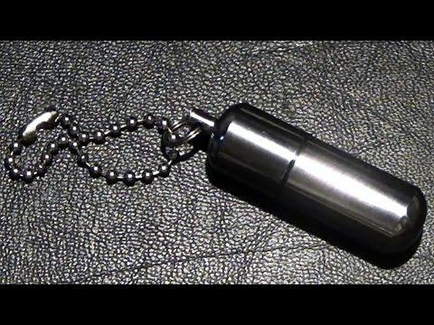 Peanut lighter - compact survival lighter