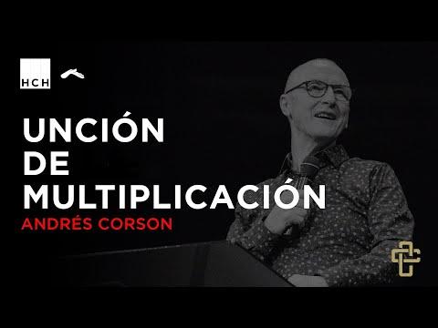 Andrés Corson - Unción de multiplicación | Hechos Contracultura | Casa de Dios