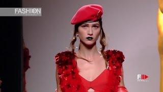 ANA LOCKING Madrid Mercedes Benz Fall Winter 2017 18   Fashion Channel