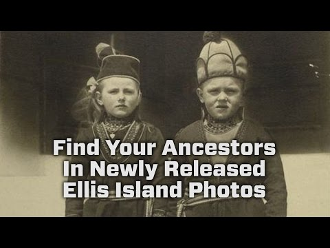 Now You Can See Photos Of America's Immigrants At Ellis Island